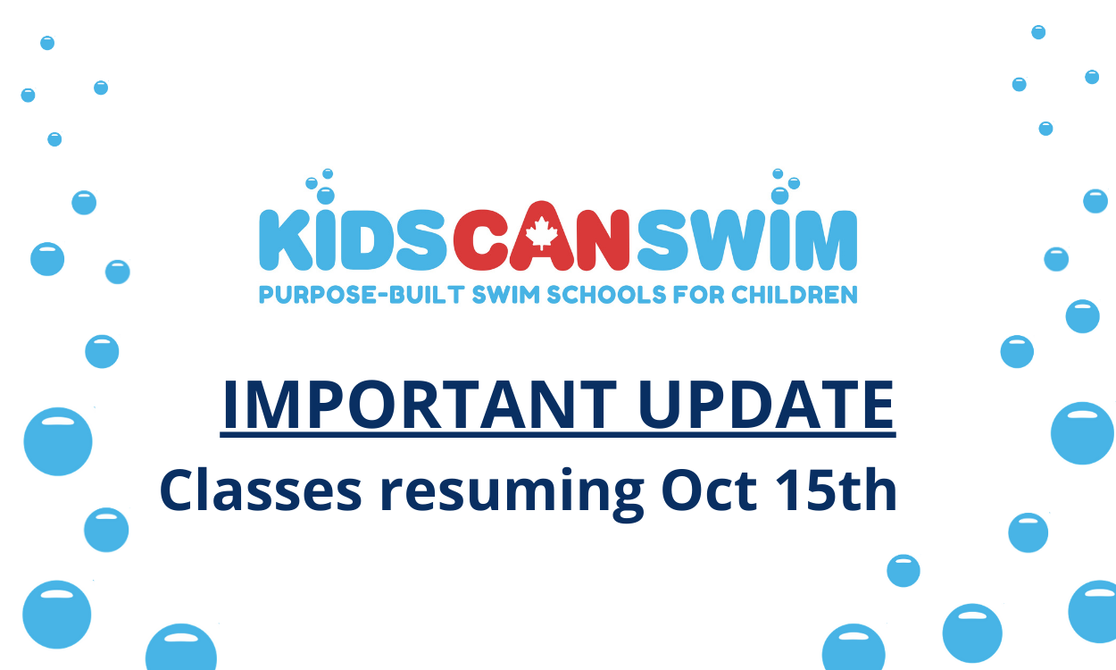 KidsCanSwim Is OPEN!